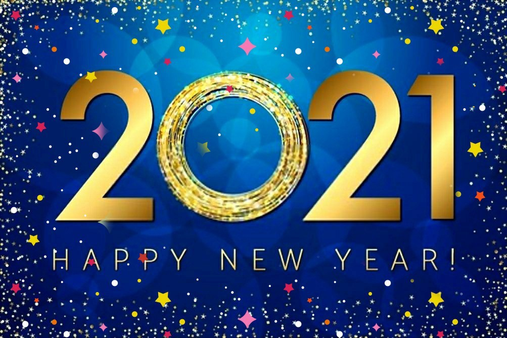 2021 Celebration, Happy New Year!